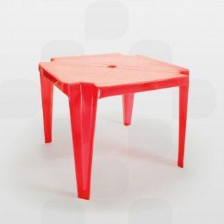 Mesa Infantil Plastex Vermelha