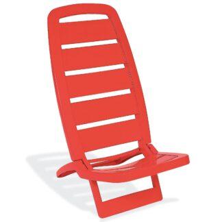 Cadeira Tramontina Guarujá Vermelha