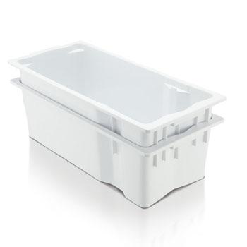 Caixa Plástica de Leite Branca 26 Litros