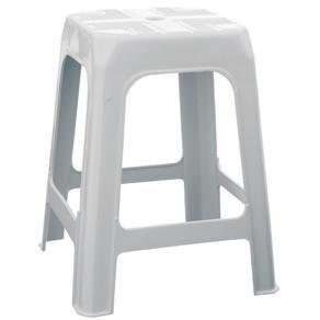 Banqueta de Plástico Branca