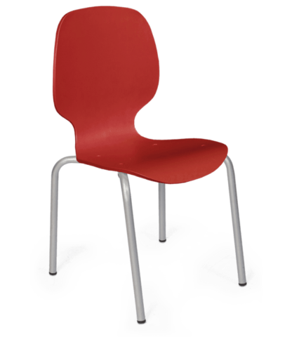 Cadeira de Plástico Maelhada Preta