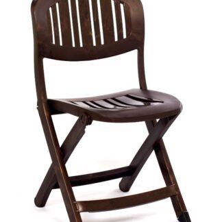 Cadeira cristal dobrável