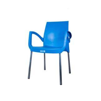 Poltrona de Plástico Jasmim Azul