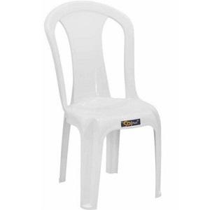 Cadeira de Plástico branca SOLPLAST