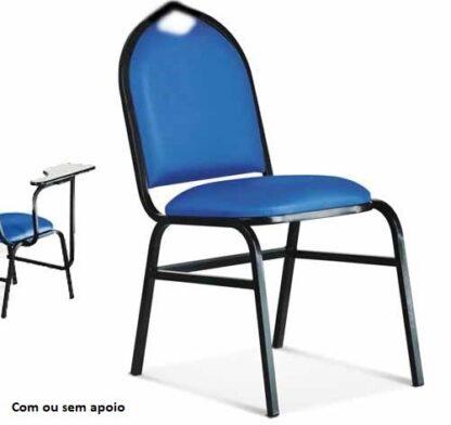 Cadeira Estofada Hotel com ou sem apoio de braço