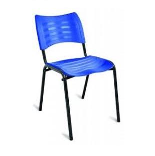 Cadeira Ônix em plástico e ferro