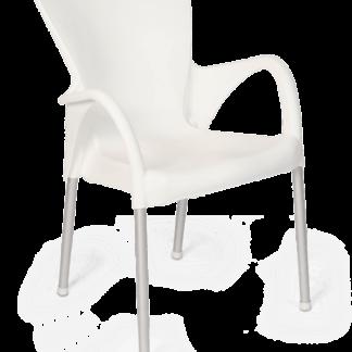 Cadeira de Plástico Setúbal Amarela