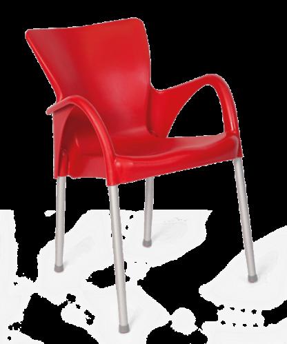 Cadeira de Plástico Setúbal Preta