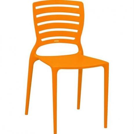 Cadeira Tramontina Sofia Laranja