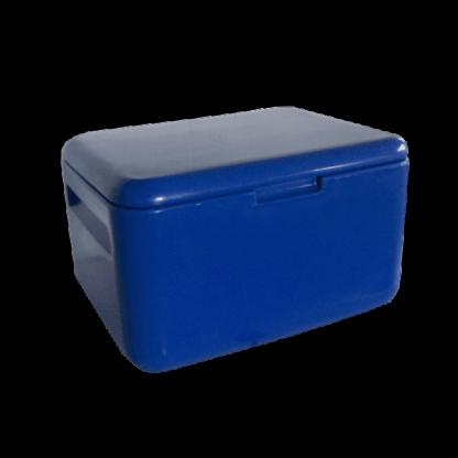 Caixa Térmica de Plástico 45L Azul