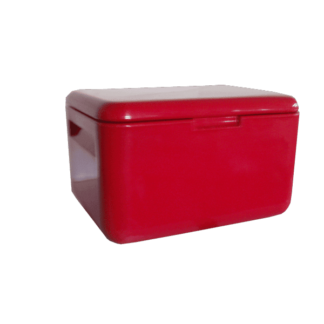 Caixa Térmica de Plástico 45L Vermelha