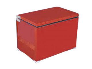 Caixa Térmica Galvanizada 180 L Vermelha