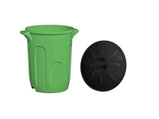 Cesto de lixo com tampa