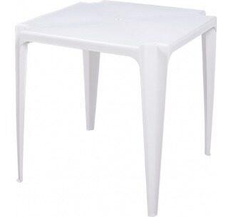 Mesa de Plástico Amarilis Branca