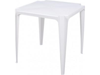 Mesa de Plástico Quadrada Plastex