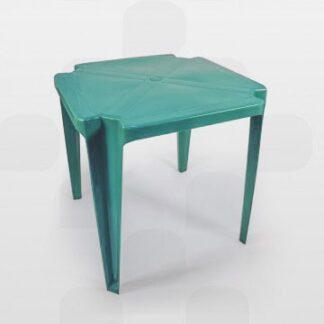 Mesa de Plástico Plastex Vermelha