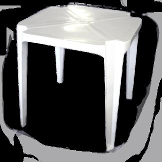 Mesa Plástica Quadrada Baemba