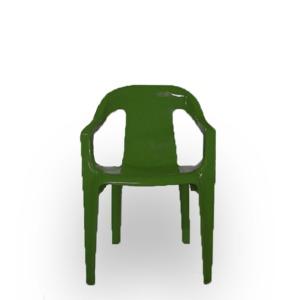 Cadeira de Plástico Infantil Verde