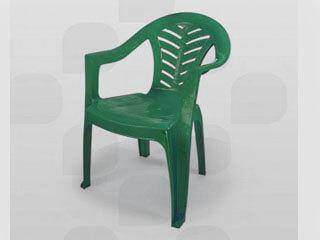 Poltrona de Plástico Plastex Verde