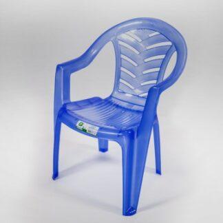 Poltrona Infantil Plastex Azul