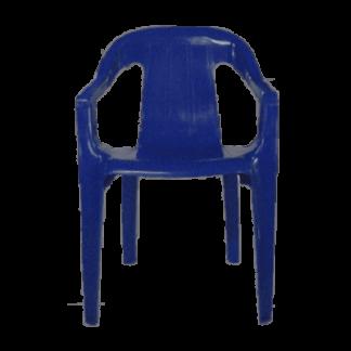 Poltrona de Plástico Spazio Goyana Azul