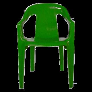 Poltrona de Plástico Spazio Goyana Verde